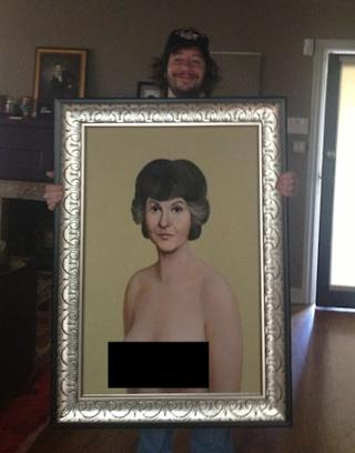 Did Jimmy Kimmel Purchase the Nude Bea Arthur Painting?