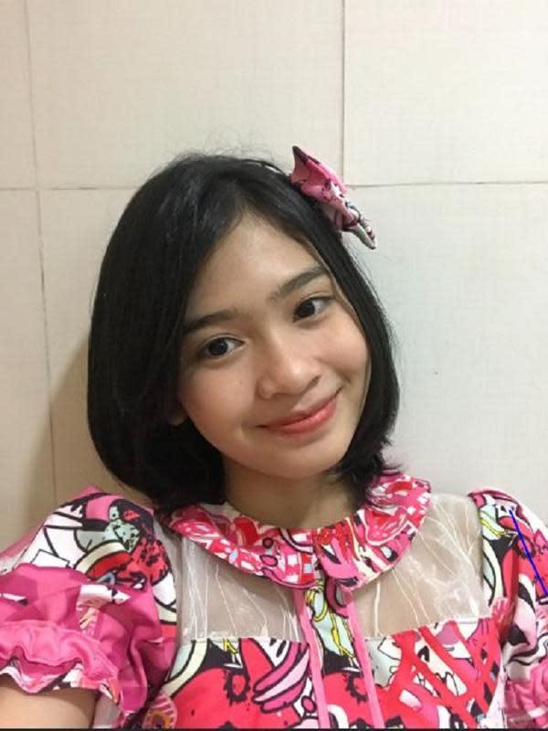 Flora Shafiq JKT48 (Foto: Twitter/@S_FloraJKT48)