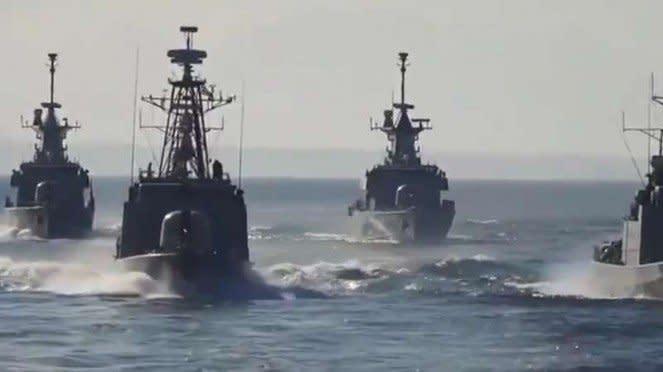 VIVA Militer: Kapal perang Angkatan Laut Yunani.