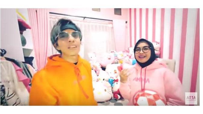 Ria Ricis dan Atta Halilintar (Sumber: YouTube/ Atta Halilintar)