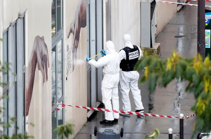 'Never-ending nightmare': Violence returns to Paris street where Charlie Hebdo was attacked