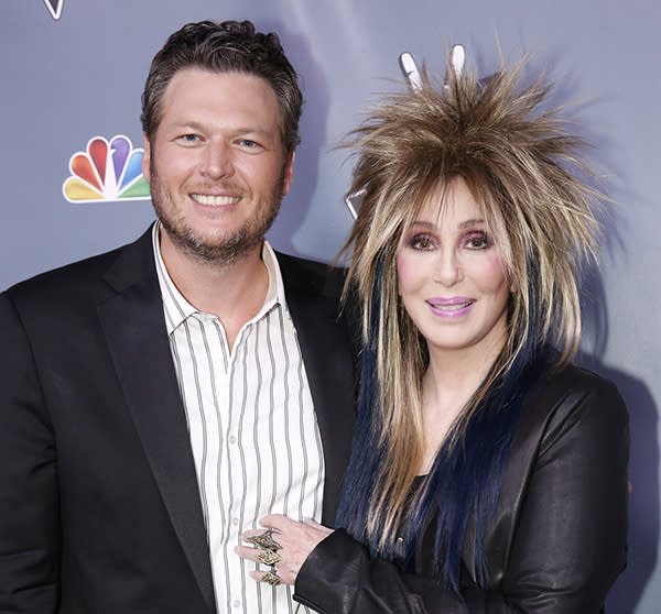 Exclusive Video: Cher Loves 'The Voice,' Blake Shelton Loves Cher