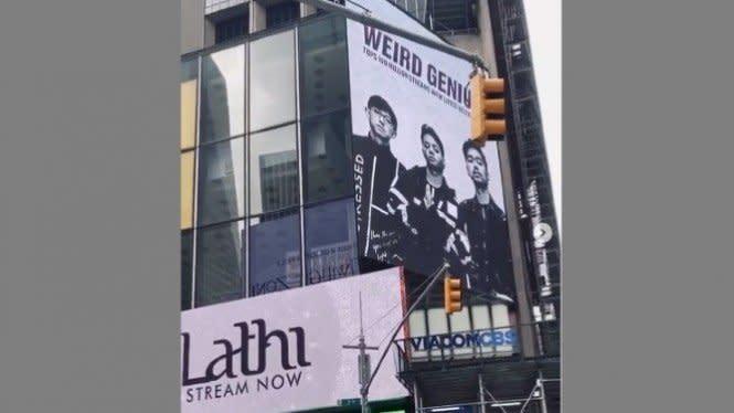 Fotonya Muncul di Time Square, Weird Genius Siap Go Internasional?