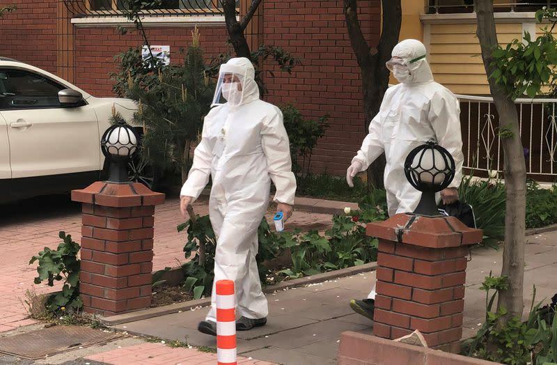 Alarm in Ankara as coronavirus sweeps Turkish capital