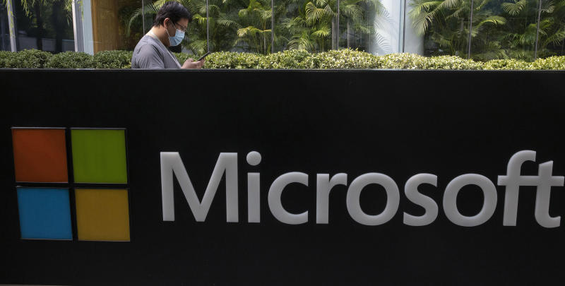 Microsoft-Labor Department