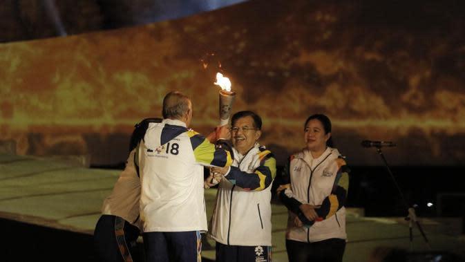 Inilah cerita di balik api abadi Mrapen yang digunakan untuk menyalakan obor Asian Games 2018. (Foto: Bola.com/M.Iqbal Ichsan)
