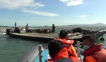 不單純 陸漁船滿載2萬蚵苗越界闖入金門海蚵養殖場