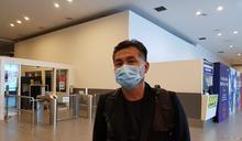 鍾女父親在吉隆坡第二國際機場接受中央社訪問 (圖)
