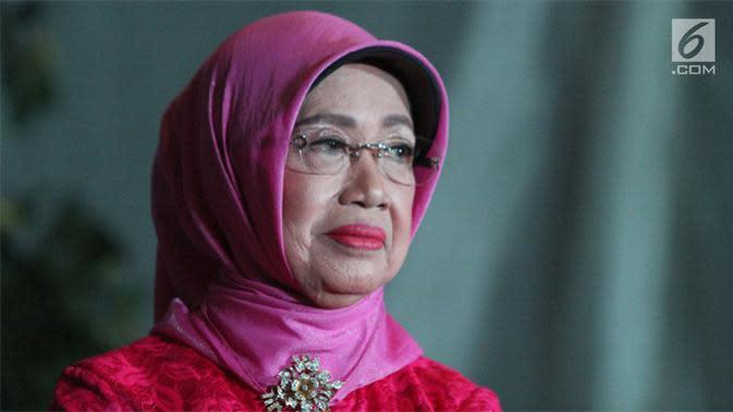 Sujiatmi Notomiharjo, ibunda Jokowi. (Liputan6.com/Helmi Fithriansyah)