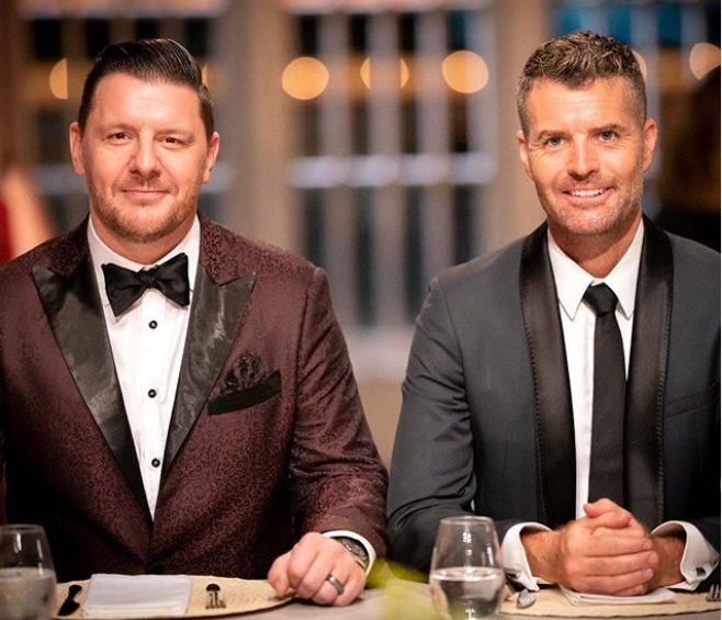 Pete and Manu have been on MKR for ten years. Photo: Seven
