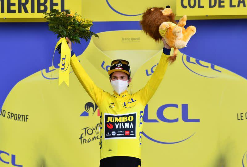 Job not done yet, says Tour de France leader Roglic