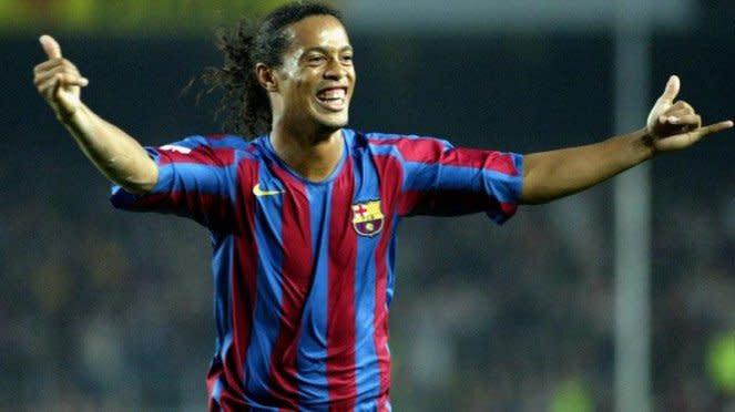 Mantan bintang Barcelona Ronaldinho