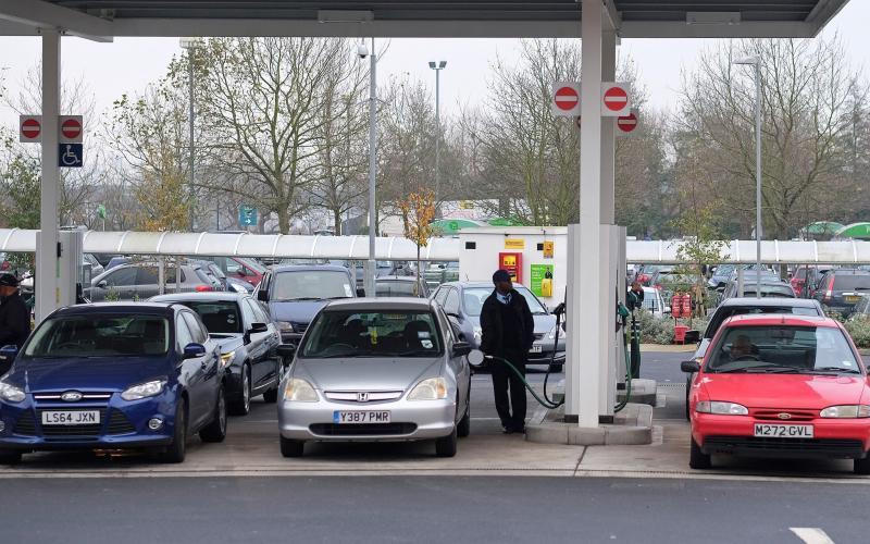 fuel forecourt at Asda supermarket - Simon Dawson/Bloomberg