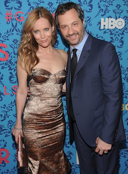 Leslie Mann and producer Judd Apatow