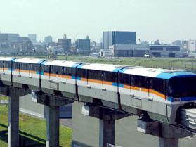 日本羽田機場——單軌電車