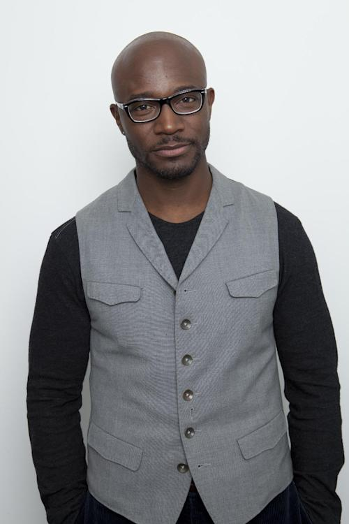 FILE - In this Tuesday, Jan. 22, 2013 file photo, American actor Taye Diggs poses for a portrait, in New York. Los Angeles prosecutors charged a 20-year-old man with felony residential burglary on Tuesday Jan. 29, 2013, two days after Diggs detained Hassan Omar Juma after returning from the Screen Actors Guild Awards and finding the man in his garage. (Photo by Amy Sussman/Invision/AP, File)