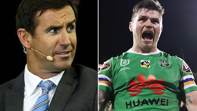 Andrew Johns says John Bateman's contract talk has come at an inopportune time.