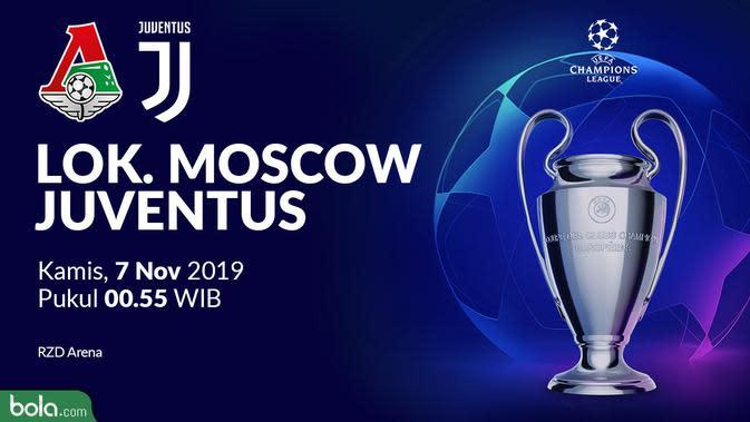 Liga Champions - Lokomotiv Moscow Vs Juventus (Bola.com/Adreanus Titus)