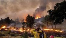 加州史上第2大規模野火》燒毀面積等於5個台北市 氣象局警告雷擊恐再生新野火