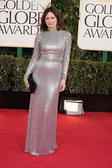 70th Annual Golden Globe Awards - Arrivals: Emily Mortimer