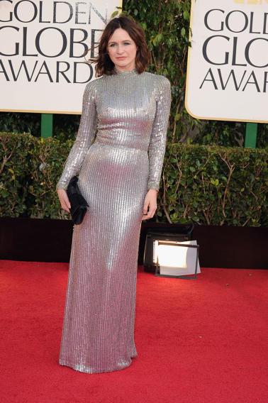 70th Annual Golden Globe Awards - Arrivals: Emily Mortimer