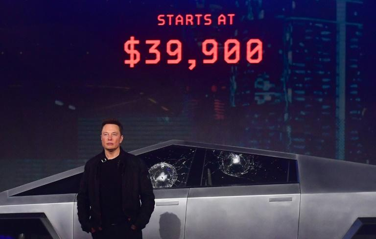 Elon Musk unveiled Tesla's all-electric battery-powered Cybertruck in November 2019