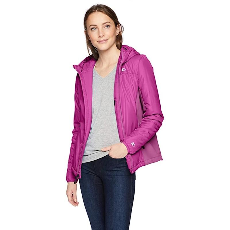 Starter Women's Insulated Breathable Jacket Insulated Jacket is on sale during Prime Day 2020.