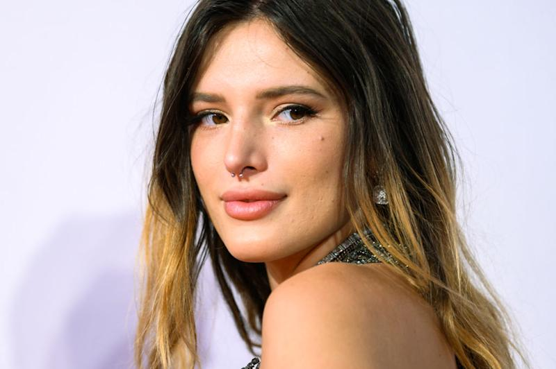Bella Thorne has revealed she is in a polyamorous throuple [Photo: Getty]