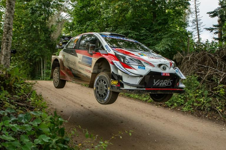 Ogier and Lappi lead Rally of Estonia after first stage in six months
