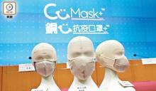 銅芯口罩被指清洗後防菌功效跌 創科署:質量達標