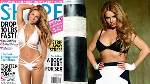 Britney's Back In 'Shape' & Flaunting It!