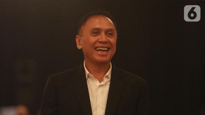 Mochamad Iriawan atau Iwan Bule menghadiri Kongres Luar Biasa (KLB) Pemilihan PSSI di Jakarta, Sabtu (2/11/2019). Iwan Bule menang mutlak di KLB PSSI yang mengagendakan pemilihan Ketua Umum PSSI periode 2019-2023 dengan raihan suara mutlak 82 dari jumlah voters 85. (Liputan6.com/Herman Zakharia)