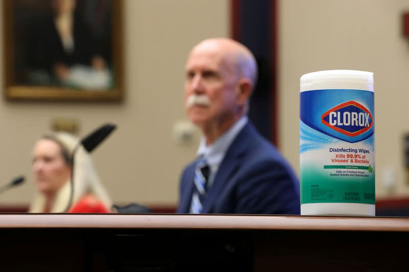 Clorox won't have enough disinfecting wipes until 2021, its CEO says