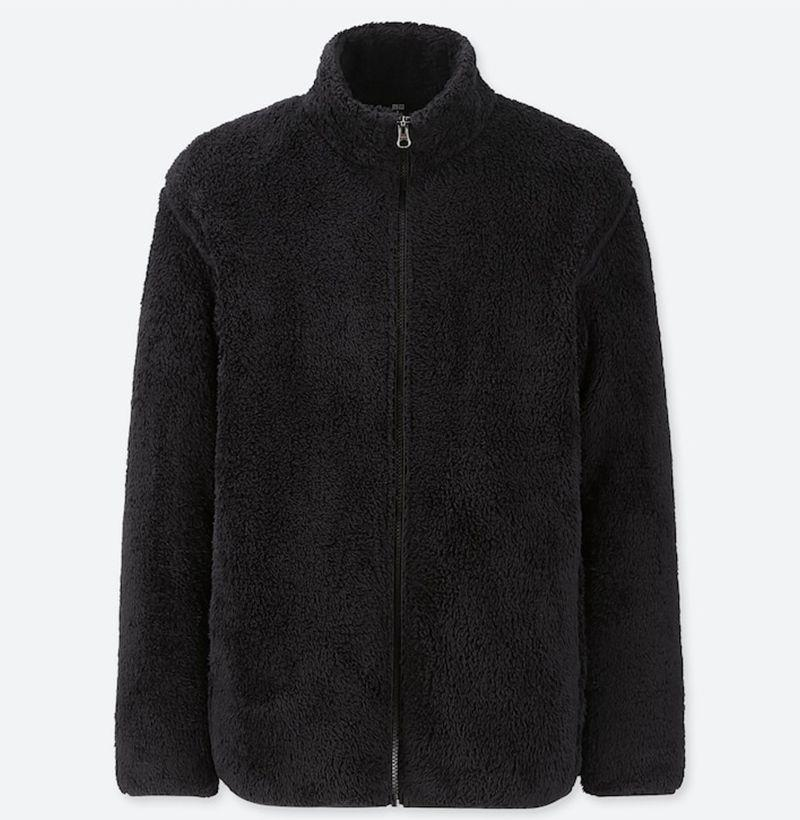 """<p><strong>Uniqlo</strong></p><p>uniqlo.com</p><p><strong>$29.90</strong></p><p><a href=""""https://go.redirectingat.com?id=74968X1596630&url=https%3A%2F%2Fwww.uniqlo.com%2Fus%2Fen%2Fmen-fluffy-yarn-fleece-full-zip-jacket-418712.html&sref=https%3A%2F%2Fwww.esquire.com%2Fstyle%2Fmens-fashion%2Fg12478291%2Ffleece-clothing-mens-style%2F"""" target=""""_blank"""">Buy</a></p><p>As plush as any other option you'll find on this list, and by far the best bang for your buck. </p>"""
