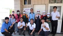 視察澎湖首座學校共廚 賴峰偉肯定統整資源提升供餐品質