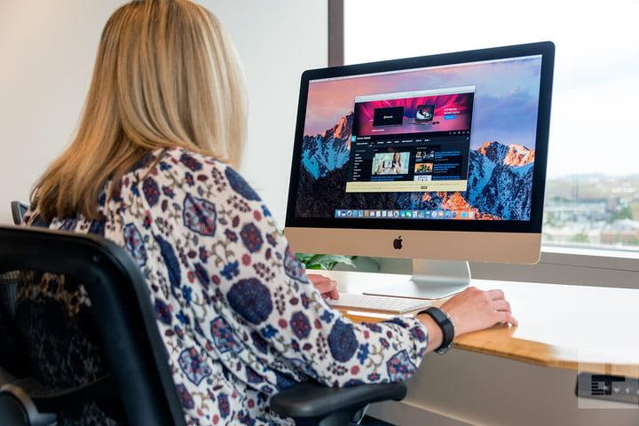 Apple iMac with Retina 5K Display review lifestyle front