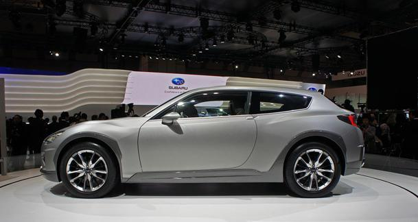 Subaru Cross Sport Design Concept gives the BRZ some back