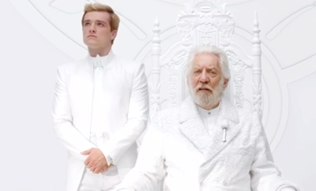 First 'Mockingjay' Teaser is a Warning From President Snow, Featuring Kidnapped Peeta (Video)