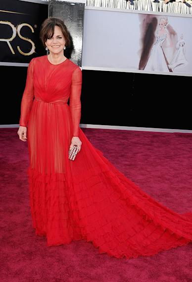 85th Annual Academy Awards - Arrivals: Sally Field