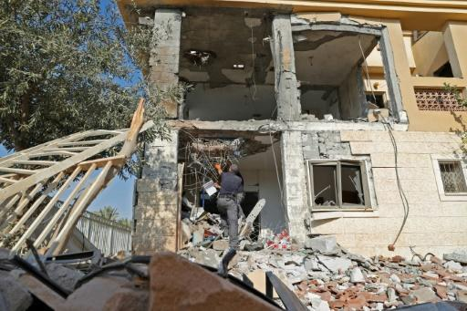 Israeli newspaper Yediot Aharonot said the swift action of a mother in Beersheba who rushed her three children into a safe room as a rocket fired from Gaza largely destroyed their home probably averted a new war