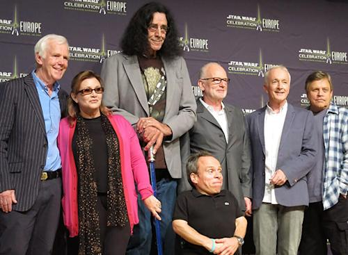 Return of the Much Older Jedi (Droid, Wookiee, Ewok, Etc.): See the Reunited Cast!