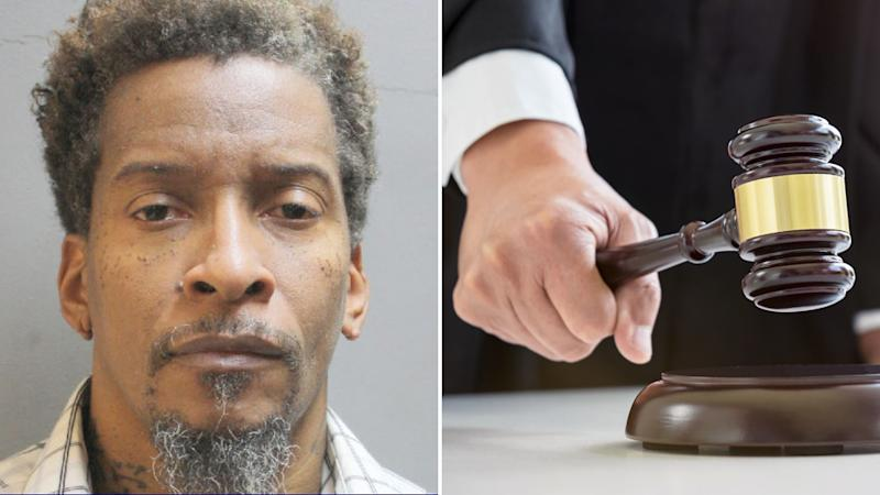 Texas man Paul Nixon (left) is wanted after allegedly forging his wife's signature to get a divorce. Right is a stock image of a judge's gavel.
