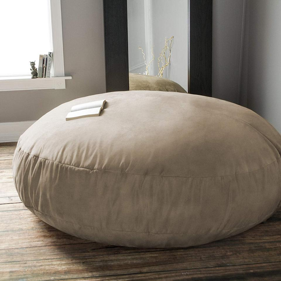 "<p>The <a href=""https://www.popsugar.com/buy/Jaxx-6-Foot-Cocoon-484378?p_name=Jaxx%206%20Foot%20Cocoon&retailer=amazon.com&pid=484378&price=258&evar1=casa%3Aus&evar9=46549300&evar98=https%3A%2F%2Fwww.popsugar.com%2Fphoto-gallery%2F46549300%2Fimage%2F46549306%2FPerfect-For-Living-Room&list1=amazon%2Cchairs&prop13=api&pdata=1"" rel=""nofollow"" data-shoppable-link=""1"" target=""_blank"" class=""ga-track"" data-ga-category=""Related"" data-ga-label=""http://www.amazon.com/Jaxx-Foot-Cocoon-Adults-Charcoal/dp/B0052SVNPG/"" data-ga-action=""In-Line Links"">Jaxx 6 Foot Cocoon</a> ($258) provides pressure-relieving support while still looking simple and stylish.</p>"