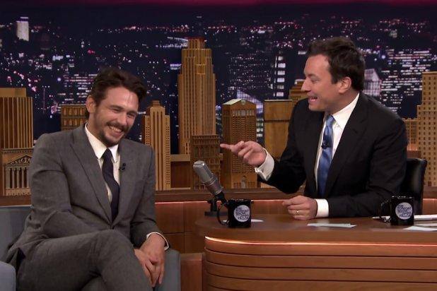 James Franco's Genius Movie Brain Is Tested in Jimmy Fallon's 5 Second Challenge (Video)