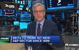 Pisani: REITs getting their own sector