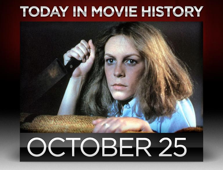 today in movie history, october 25