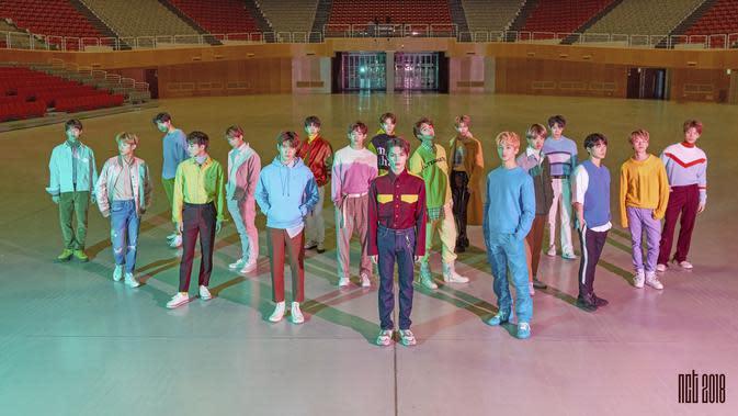 NCT 2018 lewat album Empathy (SM Entertainment - Twitter/ SMTOWNGLOBAL)