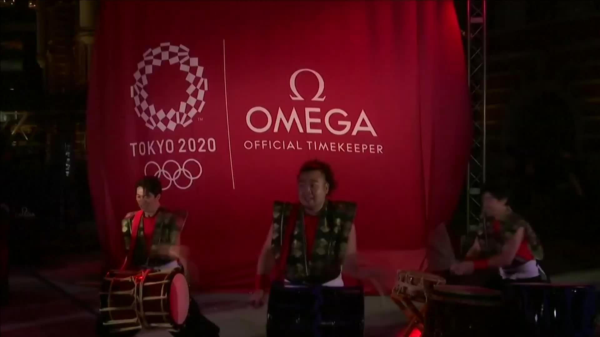 東京奧運剩365天 丸之內揭曉倒數計時器