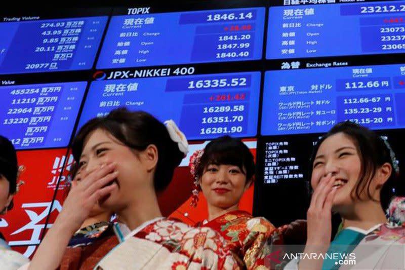 Tunggu hasil pertemuan Fed, saham Tokyo dibuka datar