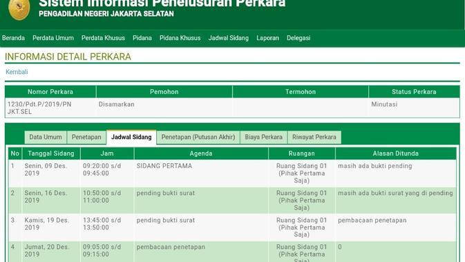 Permohonan ganti kelamin dan nama Lucinta Luna berlangsung empat kali di PN Jakarta Selatan. (Merdeka/Nur Habibie)